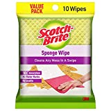 Scotch-Brite ,Multi-purpose , Easy to use kitchen cleaning Sponge Wipe (10 -Pieces)