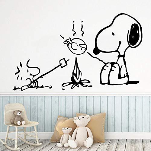 Sanzangtang Art hond muurtattoo persoonlijkheid creatieve decoratie huis woonkamer slaapkamer afneembaar