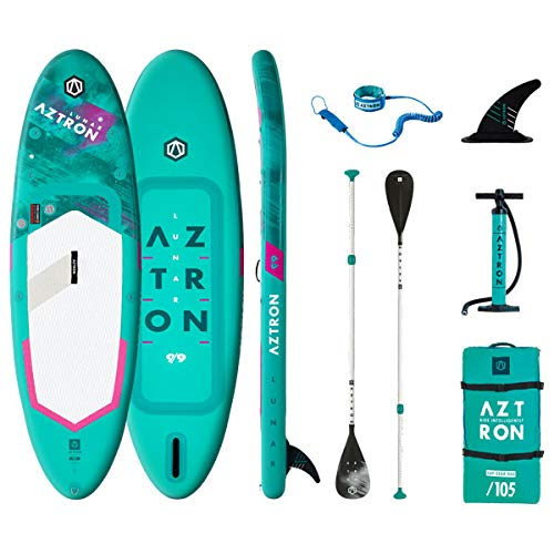 Aztron 2.0, Sup Lunar 9'9' All Round Unisex Adulto, Verde Agua