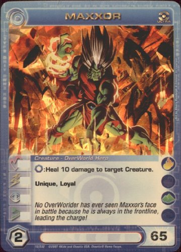 MAXXOR Chaotic Premium Edition Season 1 Ultra Rare Gold Foil Card & Unused Code (MAX ENERGY 65)
