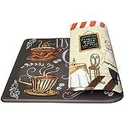 Art3d Premium Reversible Anti-Fatigue Kitchen Rug, Anti-Fatigue Comfort Mat for Kitchen, Bathroom, Laundry Room/Office