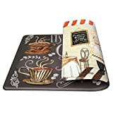 Art3d Premium Double-Sided Anti-Fatigue Chef Rug, Anti-Fatigue Comfort Mat. Multi-Purpose Decorative Standing Mat for The Kitchen, Bathroom, Laundry Room or Office, 18' X 30'