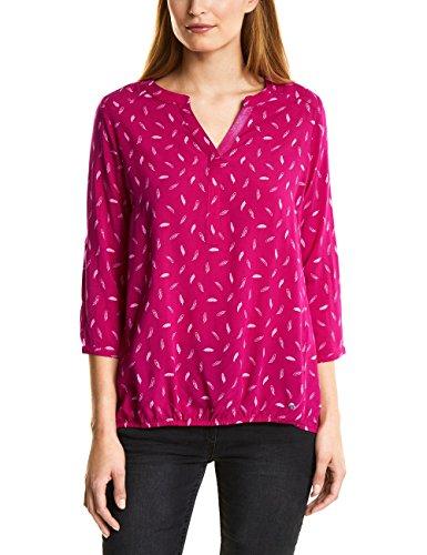 Cecil Damen 341027 Philina Bluse, Pink (Bright Magenta 31352), Small