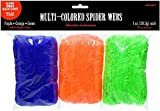 Amscan | Halloween Trick or Treat Party Decoration | Stretchable Polyester Spider Web | 1 oz | Multi Colored