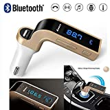 Zeekart Car Charger Turbo Charging LCD Bluetooth Car Charger with Fm, Mp3 Transmitter