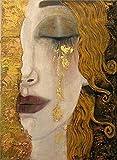 Puzzle 1000 piezas Un pintor famoso crea una imagen de arte moderno de una mujer llorando puzzle 1000 piezas Rompecabezas de juguete de descompresión intelectual educativo div50x75cm(20x30inch)