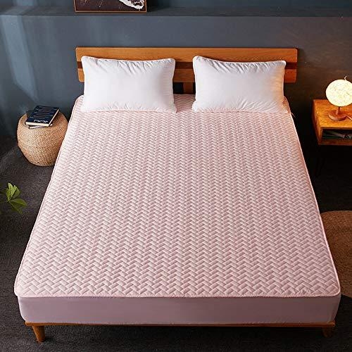 IKITOBI Sábana bajera ajustable para cama doble, sin fundas de almohada, no se decolora, 100 x 200 cm+12 cm