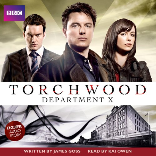 Torchwood: Department X cover art