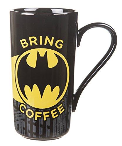 Batman trae la taza de caf Latte