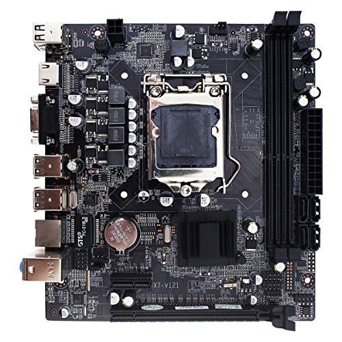 Sofobod Intel H61 Mainboard Motherboard Socket LGA1155, 2xDual Dimms DDR3(1333) memory slots total support 16GB RAM, DDR3/SATA2.0/USB3.0/HDMI/VGA - Micro ATX