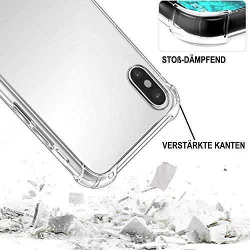 ff-mobile HANDYKETTE kompatibel mit Huawei Y7 2018 - Smartphone Necklace Hülle mit Band - Schnur mit Case zum umhängen in Schwarz - 4