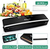SLAOUWO V2 Vacuum Sealer, Multifunction Food Sealer Automatic Vacuum Sealing Machine with Patented