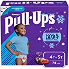 Pull-Ups Cool & Learn Boys' Training Pants, 4T-5T, 74 Ct