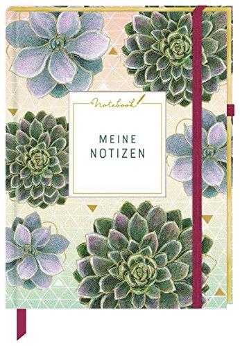 Notizbuch - Meine Notizen (Stoffeinband)
