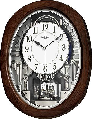 """Rhythm Clocks """"Espresso Blessing"""" Magic Wall Clock"""