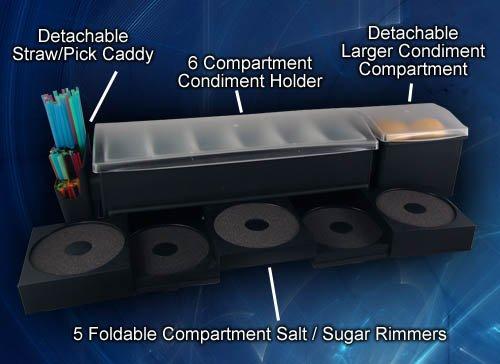 Salt Rimmer Garnish Center w/all Attachments