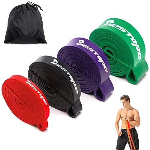 BESTOPE Bandas de resistencia Kit - Bandas de ejercicios Aparatos de gimnasia...