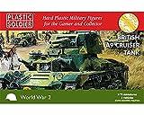 PLASTIC SOLDIER COMPANY : Tank 1/72 British A9 Cruiser (3 por caja).
