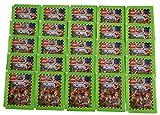 Blue Ocean Jurassic World Lego Sticker Serie 2019 recibirás 25 bolsas de pegatinas