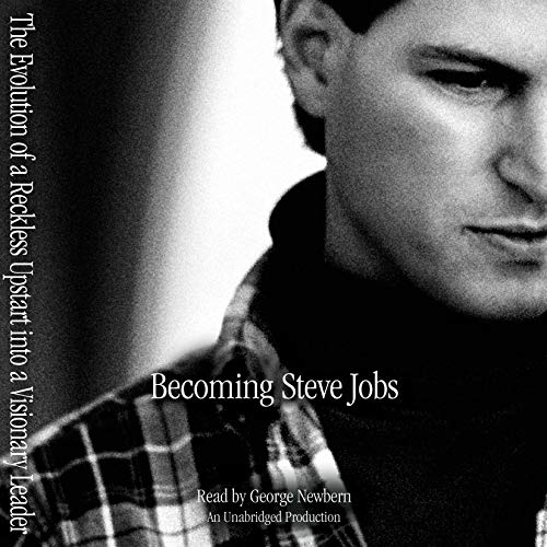 Becoming Steve Jobs     The Evolution of a Reckless Upstart into a Visionary Leader              By:                                                                                                                                 Brent Schlender,                                                                                        Rick Tetzeli                               Narrated by:                                                                                                                                 George Newbern                      Length: 16 hrs and 21 mins     4,417 ratings     Overall 4.7