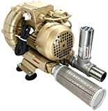 Regenerative Blower Kit EKZ 98-20 | Pressure or Vacuum applications | Includes SS Relief Valve and Intake Filter | Quiet Operation | No Maintenance Required - Oil Free | Life by Air!