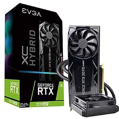 EVGA GeForce RTX 2070 Super XC Hybrid Gaming, 8GB GDDR6, WATERCOOLED, 08G-P4-3178-KR
