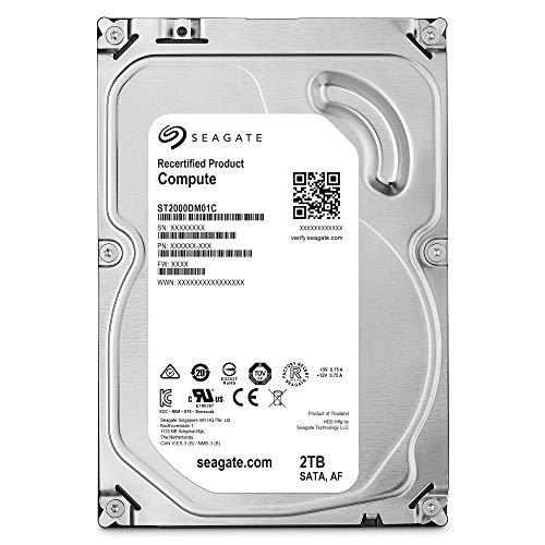 Seagate Compute 2TB Internal Hard Drive HDD – 3.5 Inch SATA for Computer Desktop PC (ST2000DM01C)