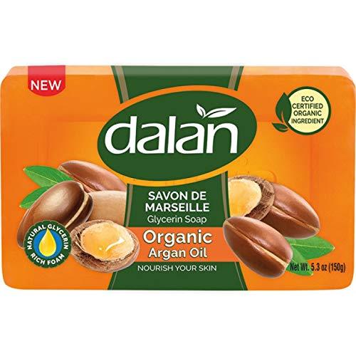 Seife DALAN 150g Organic Glycerin Argan 6´Pack (6 * 150g)