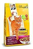 Friskies - Alimento seco para Gato Adulto Con Buey, Pollo Y Verduras Añadidas, 4 Kg