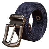 Micdime Cinturón táctico militar para hombre, cinturones de lona para vaqueros, cinturón de hebilla ...