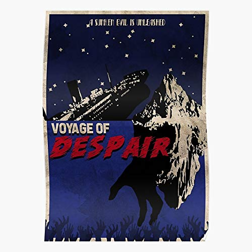 Voyage Call Ops Black of 4 Zombies Cod Despair Duty Bo4 I The Most Impressive and Stylish Indoor Decoration Poster Available Trending Now