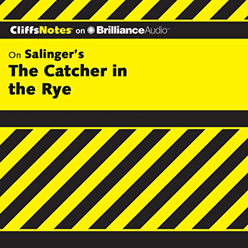 Page de couverture de The Catcher in the Rye: CliffsNotes