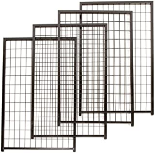 PetSafe Set of 4 Cottageview Kennel Panel, 2-1/2-Foot-by-4-Foot