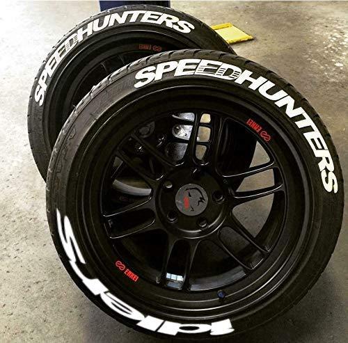 SPEEDHUNTERS iDLERS Reifenbeschriftung permanente Reifen Sticker Aufkleber qualitätssticker