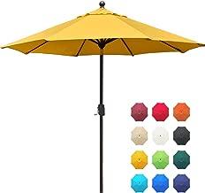 outdoor umbrella yellow