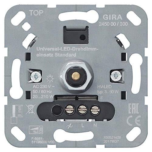 Gira LED-Univers.-Dimmereinsatz 245000 Standard Non-Design UP Dimmer 4010337031406