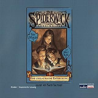 Eine unglaubliche Entdeckung     Die Spiderwick Geheimnisse 1              Autor:                                                                                                                                 Holly Black                               Sprecher:                                                                                                                                 Martin Baltscheit                      Spieldauer: 1 Std. und 12 Min.     78 Bewertungen     Gesamt 4,2