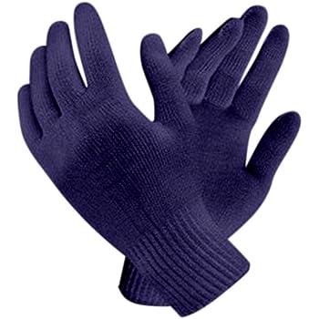 Bon Organik Reusable Blue Knitted Hand Gloves (Pack Of 10)