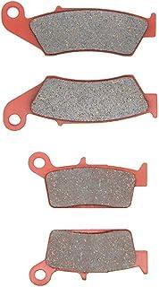MEXITAL Bremsbeläge Vorne + Hinten für XR 250 L(93 96) / XR 250 R(96 04) / XR 400 R (96 05)/XR 600 R(93 00) / XR 250 Motard (00 05) / XR 650 L(93 16) / XR 650 R (00 07).