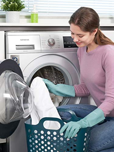 Product Image 6: LANON Wahoo PVC Household Cleaning Gloves, Reusable Unlined Dishwashing Gloves, Non-Slip, Small