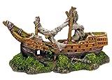 Nobby Barca Acquario Decorativo, 22x 9.5x 12.5cm