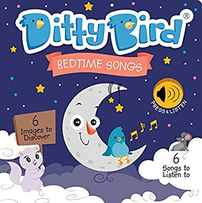 DITTY BIRD Baby Sound Book: Our Bedtime Songs Musical Book for Babies is The Perfect Toys for 1 Year Old boy and 1 Year Old Girl Gifts. Educational Music Toys for Toddlers 1-3. Award-Winning!