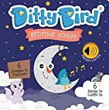 Ditty Bird Our Best Interactive Bedtime Songs Book for Babies. Illustrated Music Singing