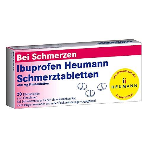 Ibuprofen Heumann Schmerztabletten 400mg, 20 St