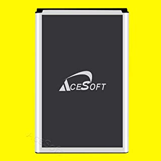 Upgraded AceSoft 6980mAh Spare Rechargeable Li/_ion Standard Battery for Samsung Galaxy Note 4 SM-N910A AT/&T Smart Phone