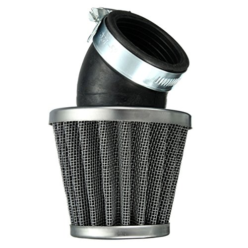 Alamor 40Mm 45 Grad Luft Filter Schwarz Für 125Cc 110Cc 125Cc 140Cc Pit Dirt Bike Motorrad