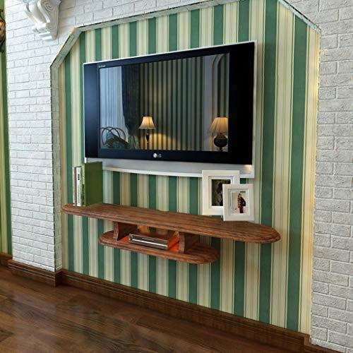 Zwevend wandrek, tv-kast set top box router wifi dvd-speler rek voor het opbergen van speeltoestellen, 120cm, Blue
