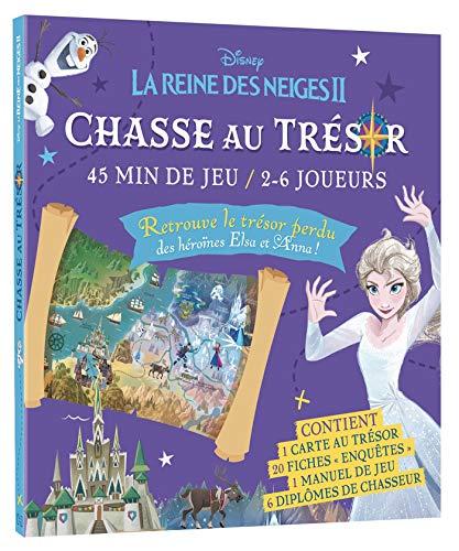 LA REINE DES NEIGES 2 - Pochette Les Ateliers - Chasse au trésor - Disney: Avec 1 carte au trésor, 20 fiches