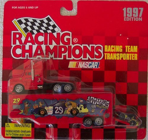 1997 Racing Champions #29 Cartoon Network Racing Team Transporter by 1997 Racing Champions 29 Cartoon Network Team Transporter