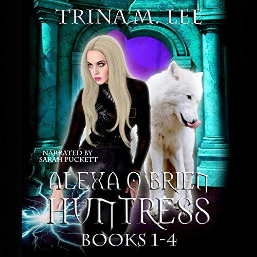 Alexa O'Brien Huntress Series Books 1-4 Box Set cover art